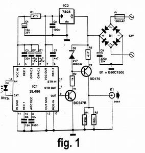 infrared signal repeater circuit diagram With ir extender circuit