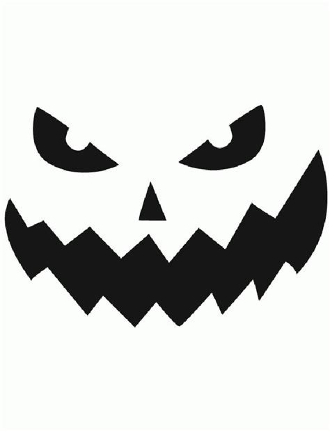 Pumpkin Carving Template Pumpkin Carving Template Free Design Templates