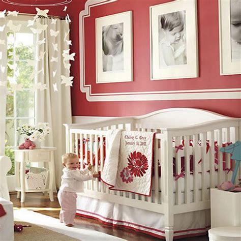 une décoration pimpant pour une chambre de bébé