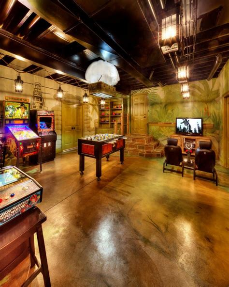 Basement Game Room Ideas Best 25 Ideas About Basement Game Room  Find What You'll Love