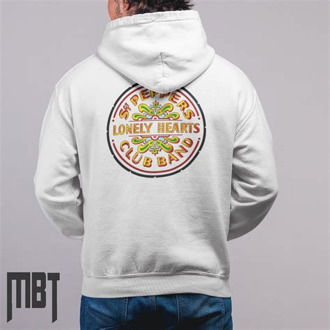 Hoodie The Beatles 2 the beatles hoodie the beatles lonely hearts cover hooded