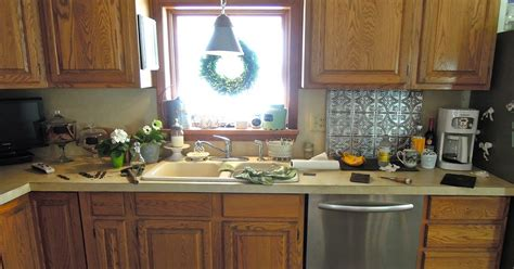 Oak Kitchen Nightmare Turned Beautiful  Everything Home