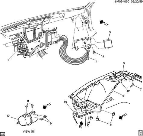 Cadillac Eldorado Heater Core Removal