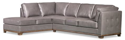 Oakdale Sofas by Oakdale 2 Leather Look Fabric Left Facing Size