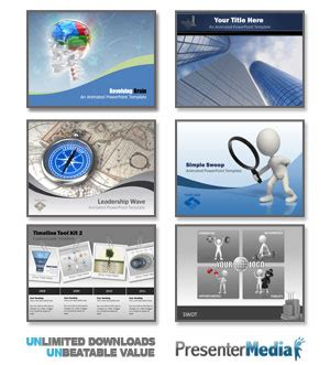 animated clipart  powerpoint  collection