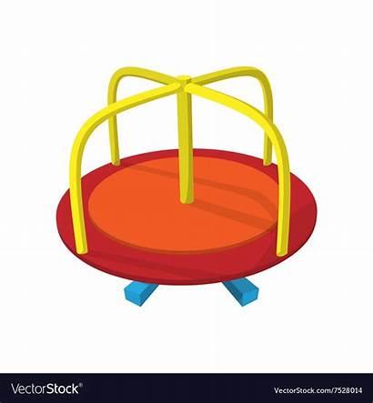 Merry Round Playground Clipart Cartoon Icon Clipground