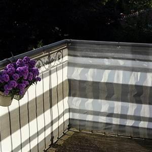 Balkon Sichtschutz Grau Meterware : balkonbespannung pe design grau anthrazit sichtschutz ~ Bigdaddyawards.com Haus und Dekorationen