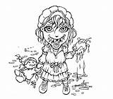 Coloring Prairie Pages Pioneer Drawing Undead Drawings Onthe Colouring Horror Printable Sugar Comments Getdrawings Sketch Deviantart Template sketch template