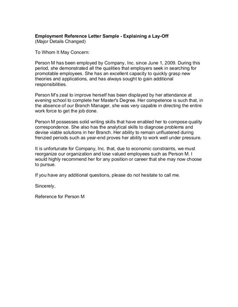 employee recommendation letter templates