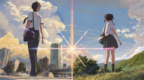 Makoto Shinkai Wallpaper Hd Kimi No Na Wa Wallpaper Full Hd Free Download