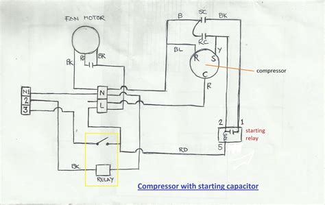 Wiring Diagram Of Refrigerator Compressor by Air Conditioner Compressor Wiring Diagram Before You Call