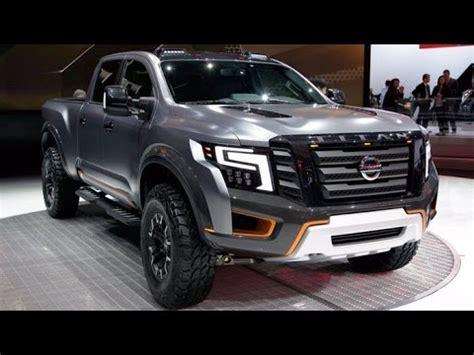 nissan titan warrior 2017 2017 nissan titan warrior concept reveal youtube