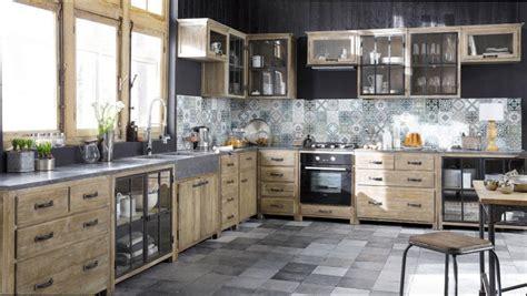 cuisine en bois vertbaudet cuisine bois cuisine bois et metal noir