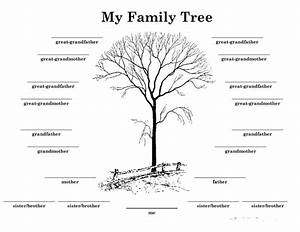 50 free family tree templates word excel pdf for Interactive family tree template