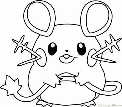 Coloring Pages Kyogre Pokemon Printable Getcolorings
