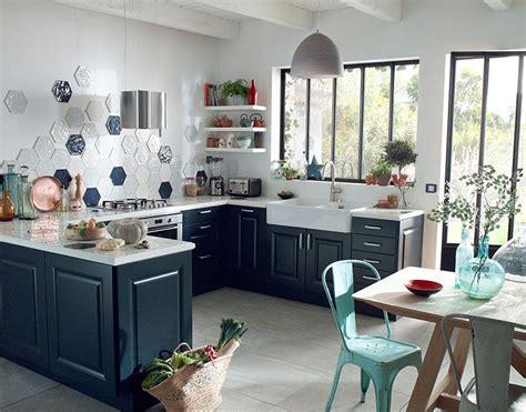 meuble castorama cuisine meuble de cuisine candide bleu nuit castorama cuisine