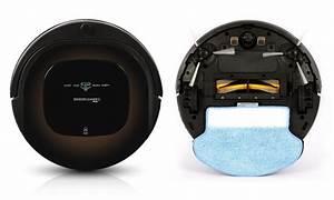Aspirateur robot et laveur groupon for Aspirateur robot et laveur sols durs tapis et moquette