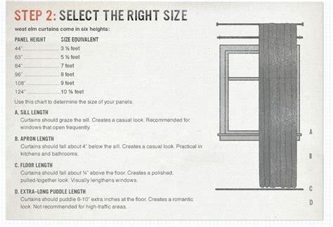 Drapes Sizes - best 25 curtain length ideas on window