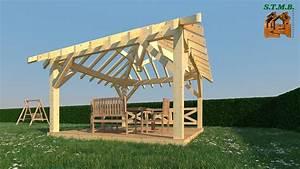Fabriquer Pergola Bois : construire une pergola bois fashion designs ~ Preciouscoupons.com Idées de Décoration