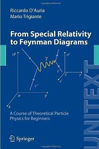 From Special Relativity To Feynman Diagrams  A Course Of Theoretical Particle Physics For