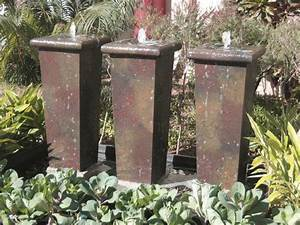 Fibreglass pot water features riverrockcoza for Tall water feature