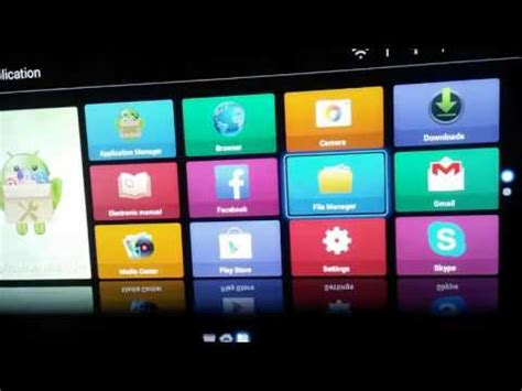 install apps  tv youtube