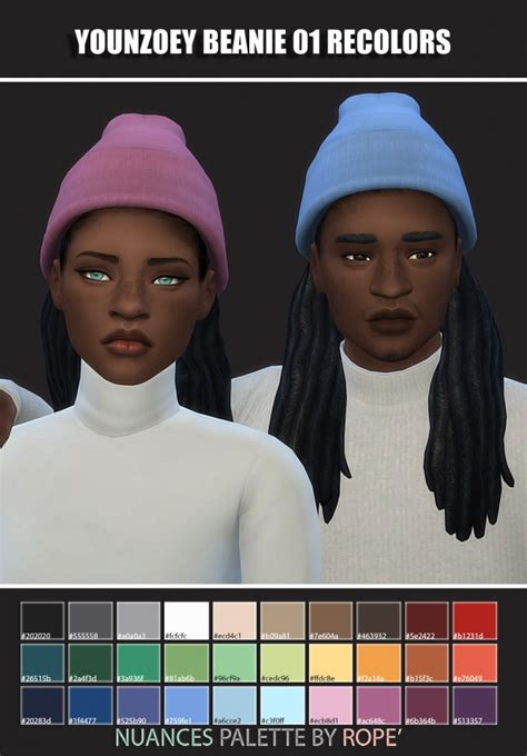 younzoey beanie recolors  maimouth sims sims  updates