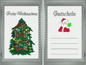 Spiele Für Weihnachten : weihnachten gutscheine zum ausdrucken ~ Frokenaadalensverden.com Haus und Dekorationen