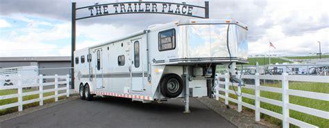 trailers horse living quarter trailer rv insurance sales johnson don horsetrailer
