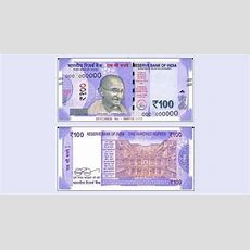 Rs 100 Note With Rani Ki Vav Motif Soon  16 Features You