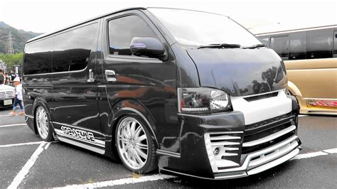 Toyota Hiace Hd Picture by Hd Toyota Hiace 200 Black Modified تويوتا هايس ハイエースカスタム