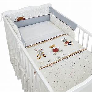Baby Bettset Mädchen : babybett kinderbett gitterbett 120x60 wei b rchen ~ Watch28wear.com Haus und Dekorationen