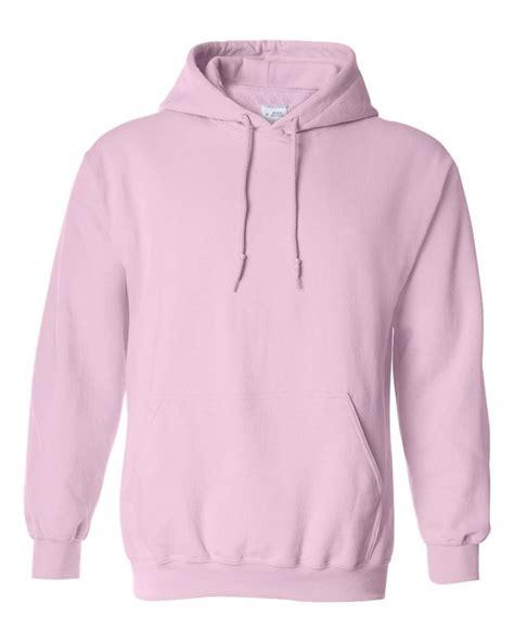 light pink pullover hoodie hooded plain pink sweatshirt men women pullover hoodie