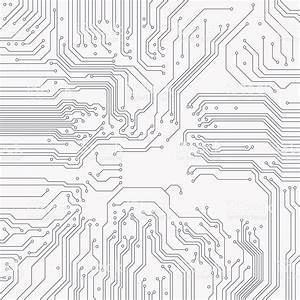 circuit board background vector electronic background With circuit symbols of electronic components hd walls find wallpapers