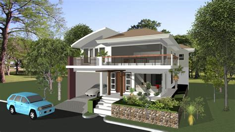 philippines house design plans  house plans philippines elevated house designs treesranchcom