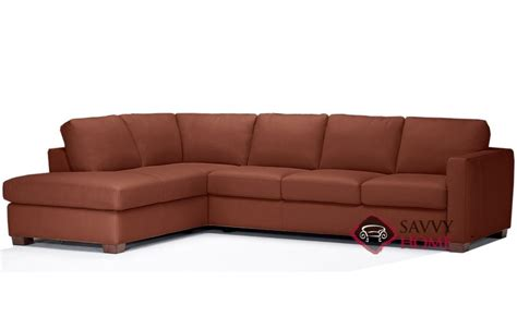quick ship roya  leather sleeper sofas chaise