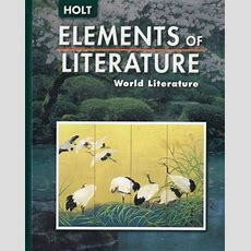 Download Elements Of Literature World Literature [pdf] By