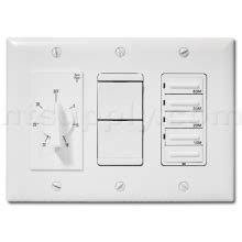 Menards Bathroom Fan Timer by Buy 4 Function Deluxe 20 Switch Combo For Heater Fan