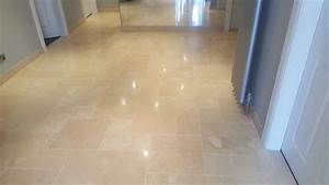 Polished Travertine Floor Tile – Gurus Floor