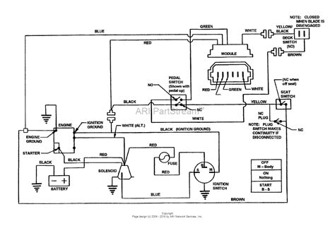 snapper 281016be 28 quot 10 hp rear engine rider series 16 parts diagram for wiring schematic for 8