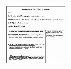 search results for daily lesson plan outline calendar 2015 With outline of a lesson plan template