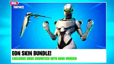 new fortnite xbox exclusive bundle quot eon skin bundle quot leaked all information