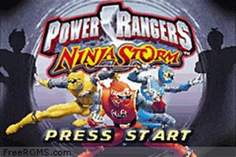 gameboy advance power rangers rom