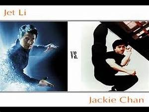 Jet Li vs Jackie Chan - Best Fight Ever! - YouTube