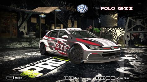 speed  wanted  volkswagen polo gti