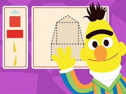 Letter Shapes Things Sesame Street Preschool Games