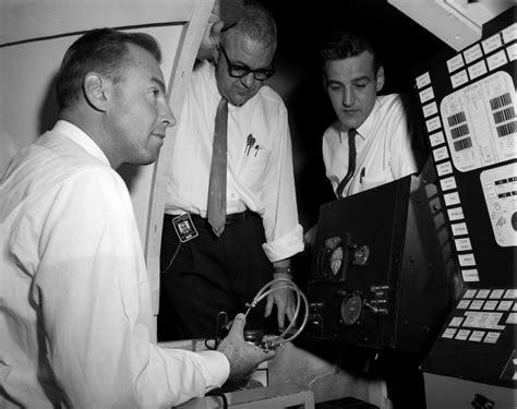 jim lovell astronaut  controls  visual docking