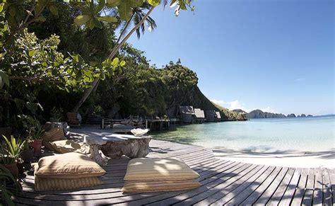 magasin canapé ile de misool eco resort bungalow de luxe à louer en indonésie