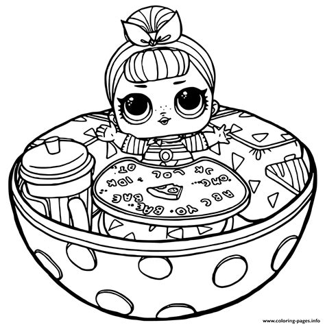 LOL Surprise Coloring Pages Printable