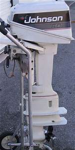 Used Johnson 6 Hp Outboard Long Shaft Boat Motor